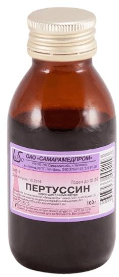 Pertussin (thymus serpyllum) sirop 100 g. vial