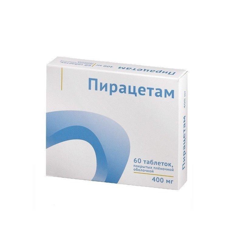 Piracetam (pіracetam) tablets 400 mg. №60