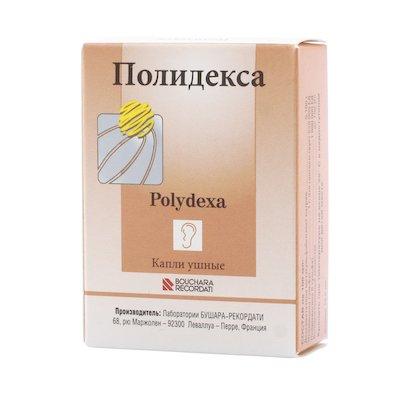 Polidexa ear drops 10.5 ml.