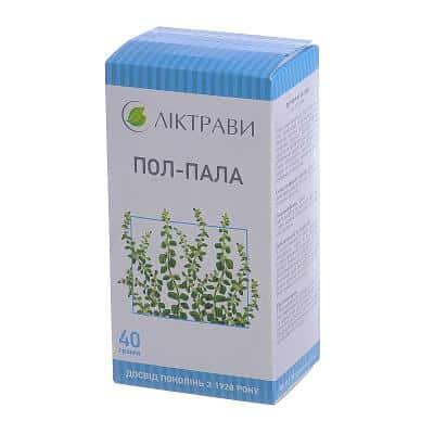 Polpala (aervae lanatae herba) herb 40 g.