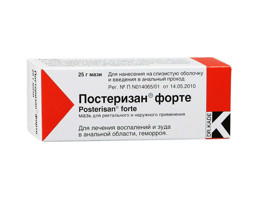 Posterizan forte ointment 25 g.