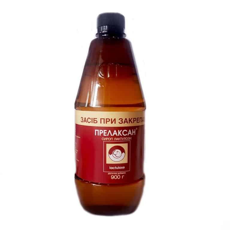 Prelaxan (lactulose) syrup 900 g.