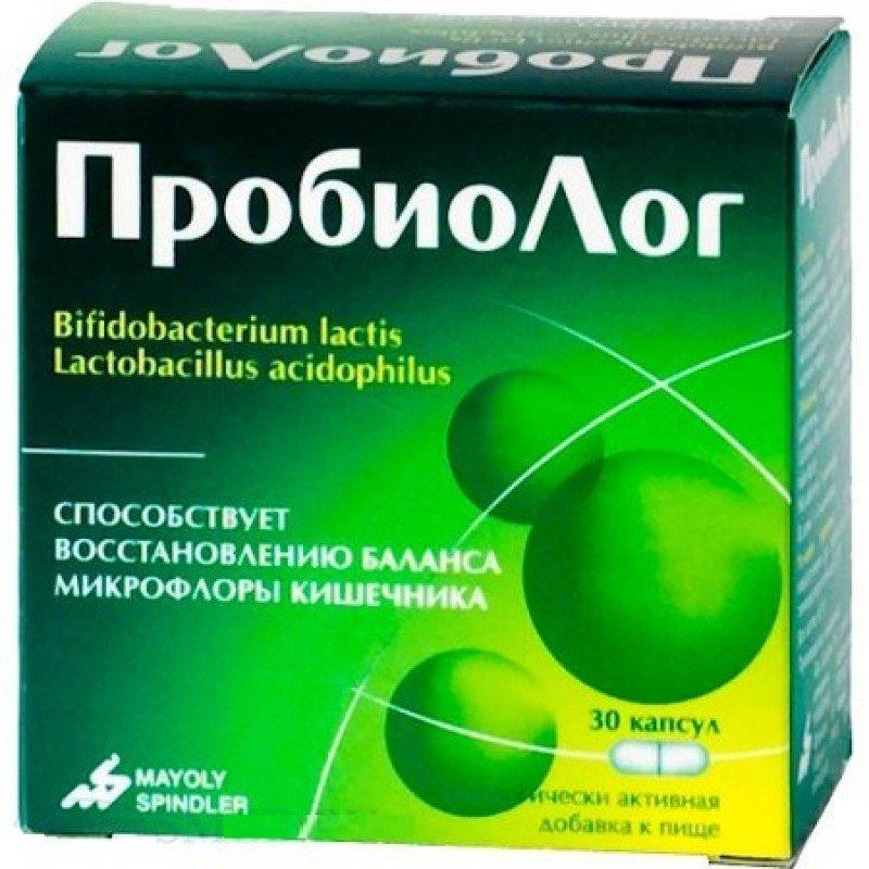 Probiolog (Lactobacillus acidophilus) capsules №30 vial
