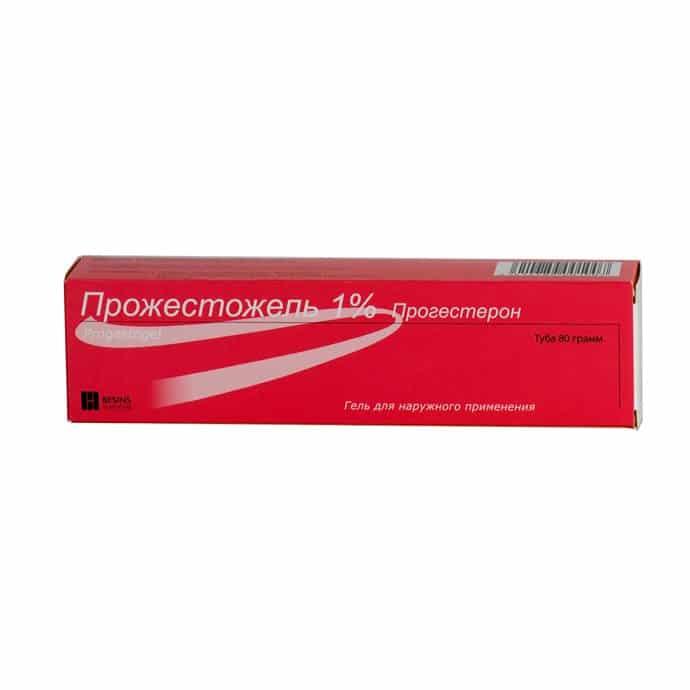 Progestogel (Progestogel) gel 1% 80 g.