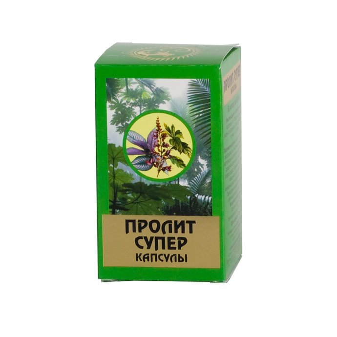 Prolit-super capsules 600 mg. №60 vial