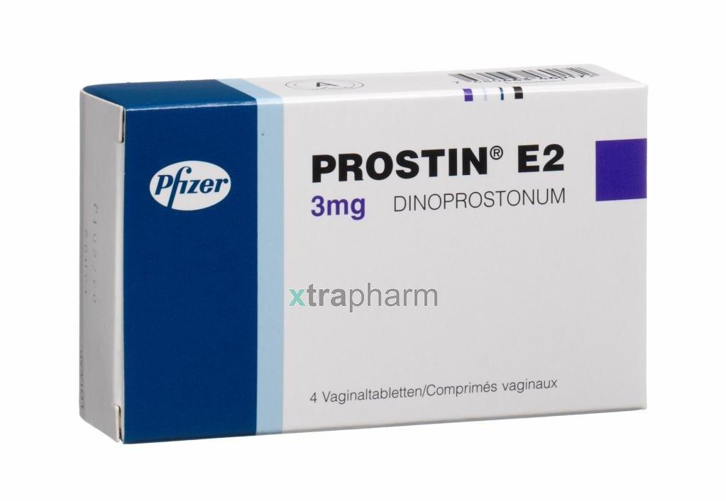 Prostin E2 (dinoprostone) gel vaginal 1 mg/3g. 3g. syringe №1