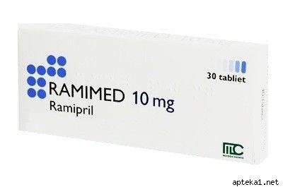Ramimed (ramipril) tablets 10 mg. №30