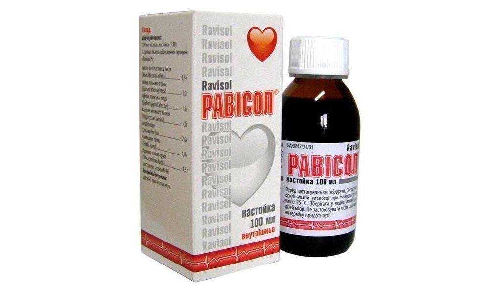 Ravisol tincture 100 ml.