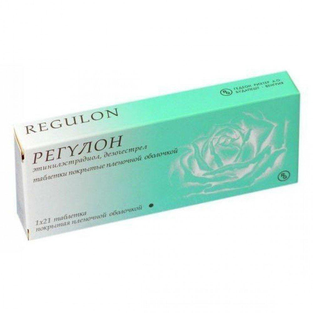 Regulon (desogestrel, ethinyl estradiol) coated tablets 0.15 mg/0.03 mg. №21