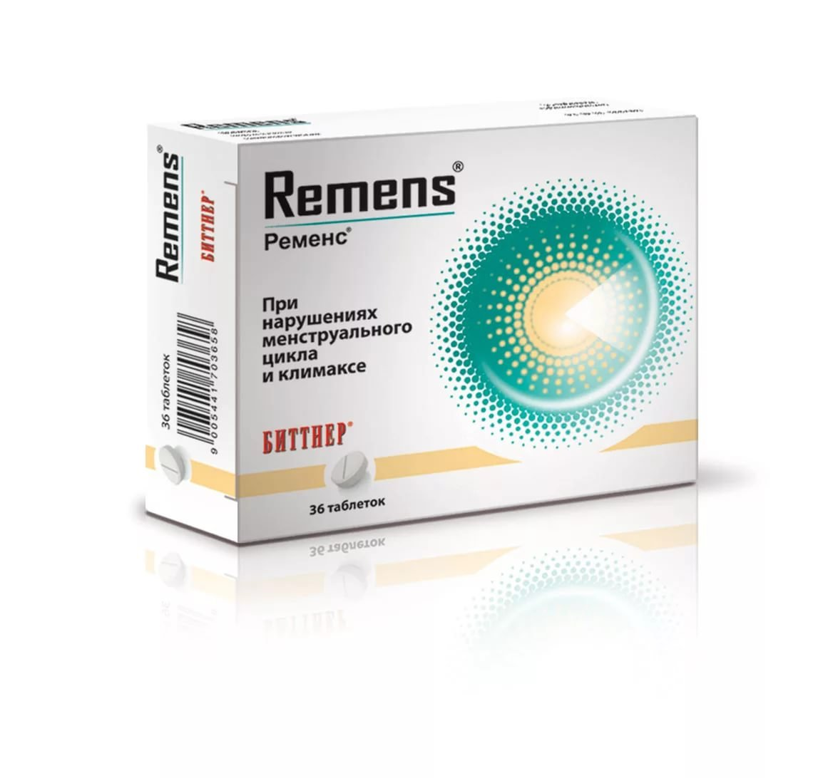 Remens (Cimicifuga) tablets №36