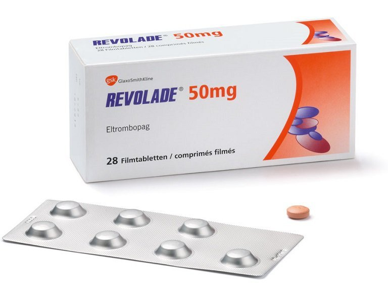 Revolad (eltrombopag) coated tablets 50 mg. №14