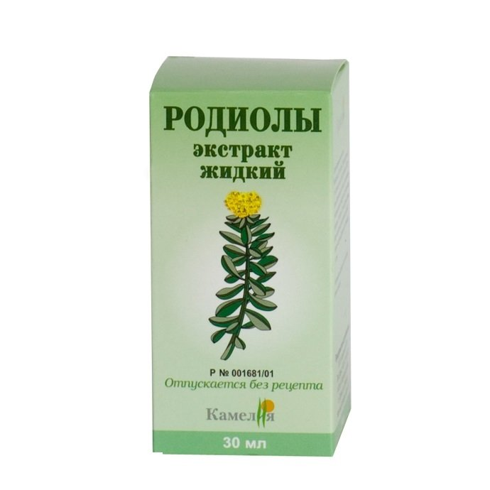 Rhodiola Rosea drops 50 ml.