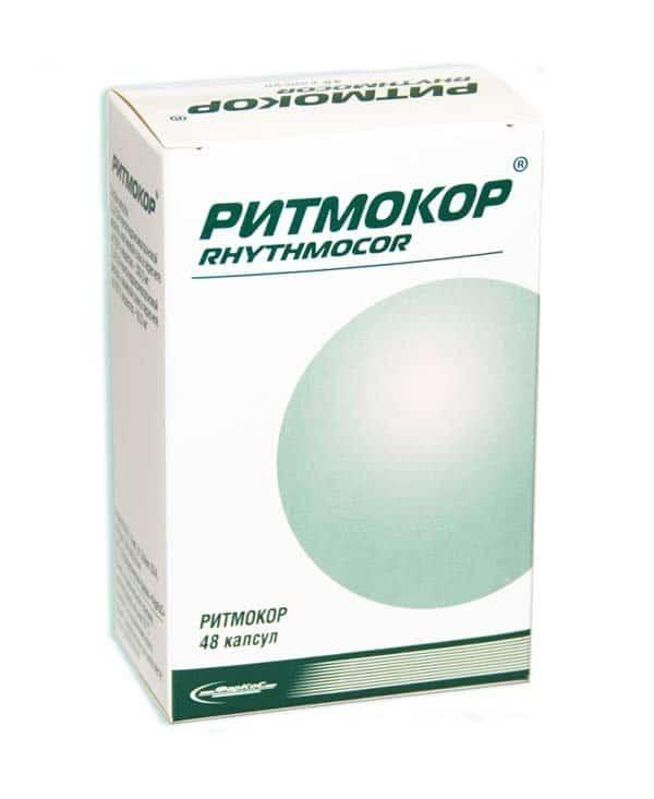 Ritmocor capsules 0.36 g. №48