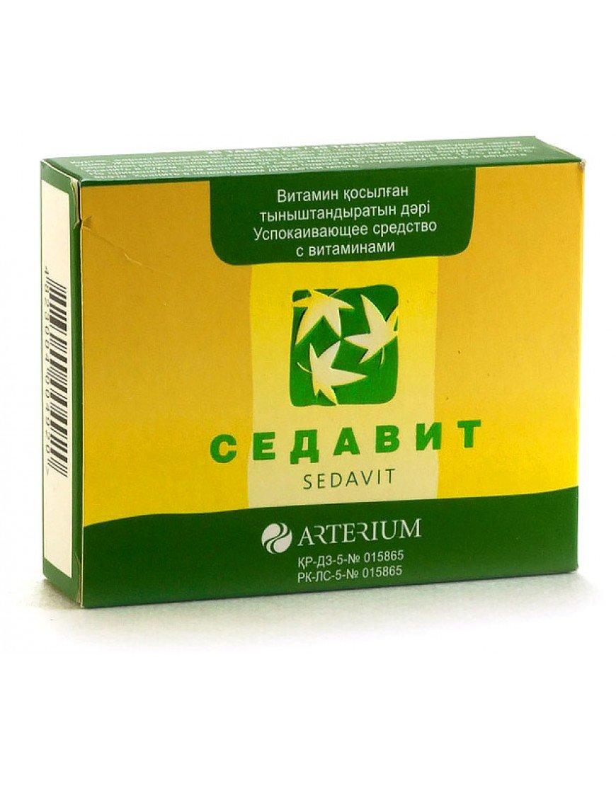 Sedafit (Valerianae radix cum radicibus) tablets №60