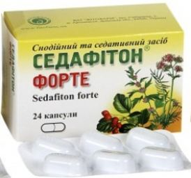 Sedafiton (contains Valerian) tablets №24
