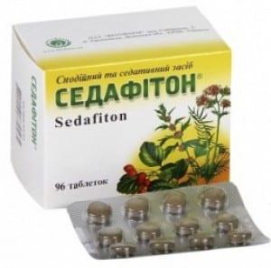 Sedafiton (contains Valerian) tablets №96