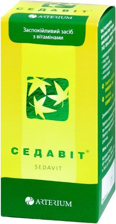 Sedavit (Extractum sedaviti fluidum)100 ml.