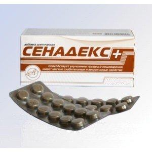 Senadex Plus (sennosides) tablets №12