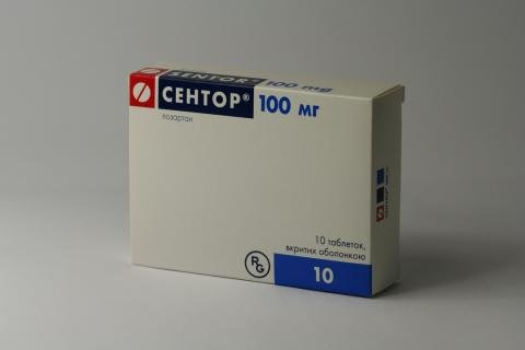 Sentor coated tablets 100 mg. №30