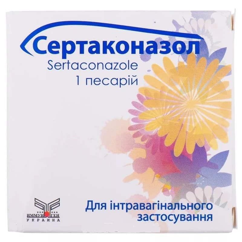 Sertaconazol (sertaconazole) pessary 300 mg. №1