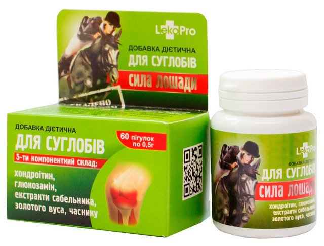 Horse power (chondroitin sulfate) tablets 0.5 №60