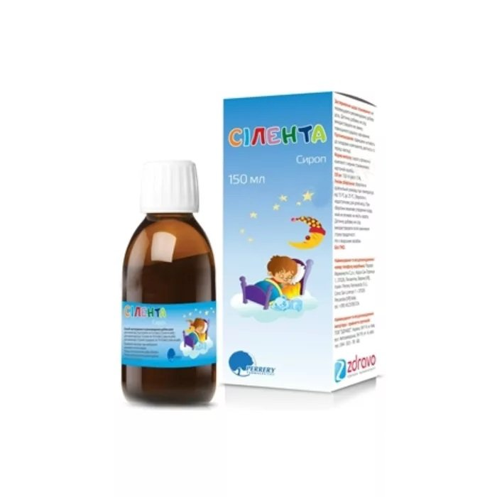 Silenta (magnesium citrate) syrup 150 ml.