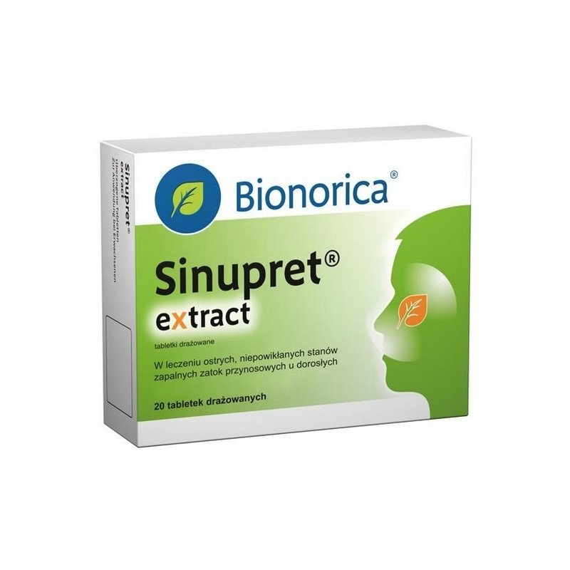 Sinupret extract (radіx Gentіanae) coated tablets №20