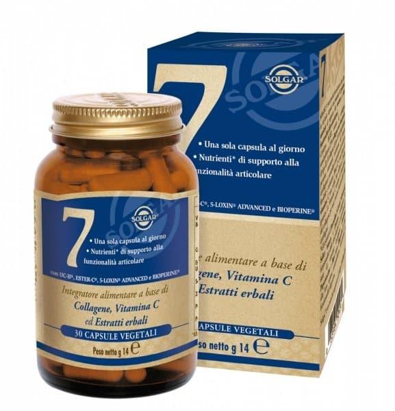 Solgar №7 (Boswellia gum extract) capsules №30 vial