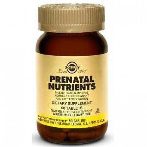 Solgar-Prenatabs (calcium carbonate) tablets №60 vial