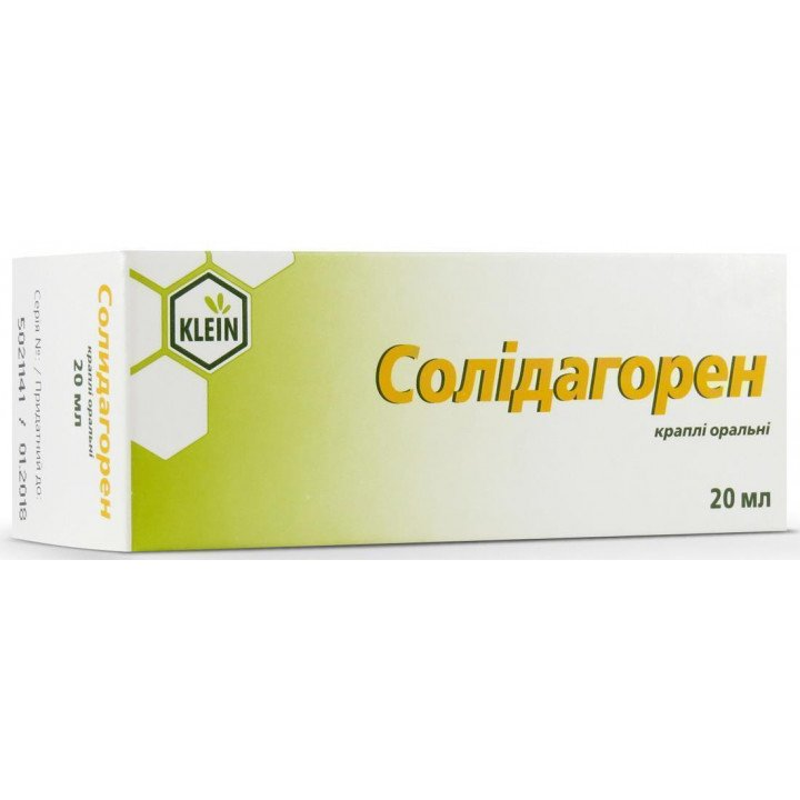 Solidagoren (solidago virgaurea L.) drops 20 ml. vial