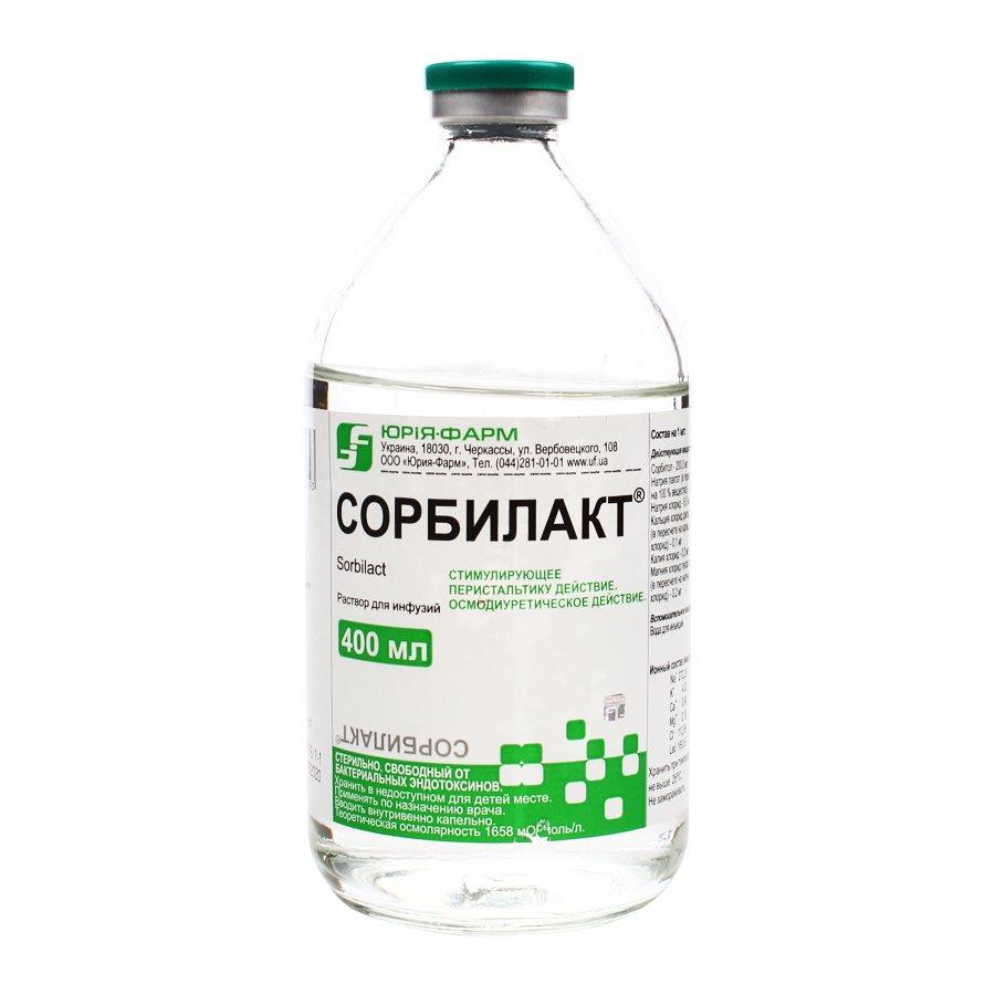 Sorbilact (sorbitol) solution for infusions 400 ml.