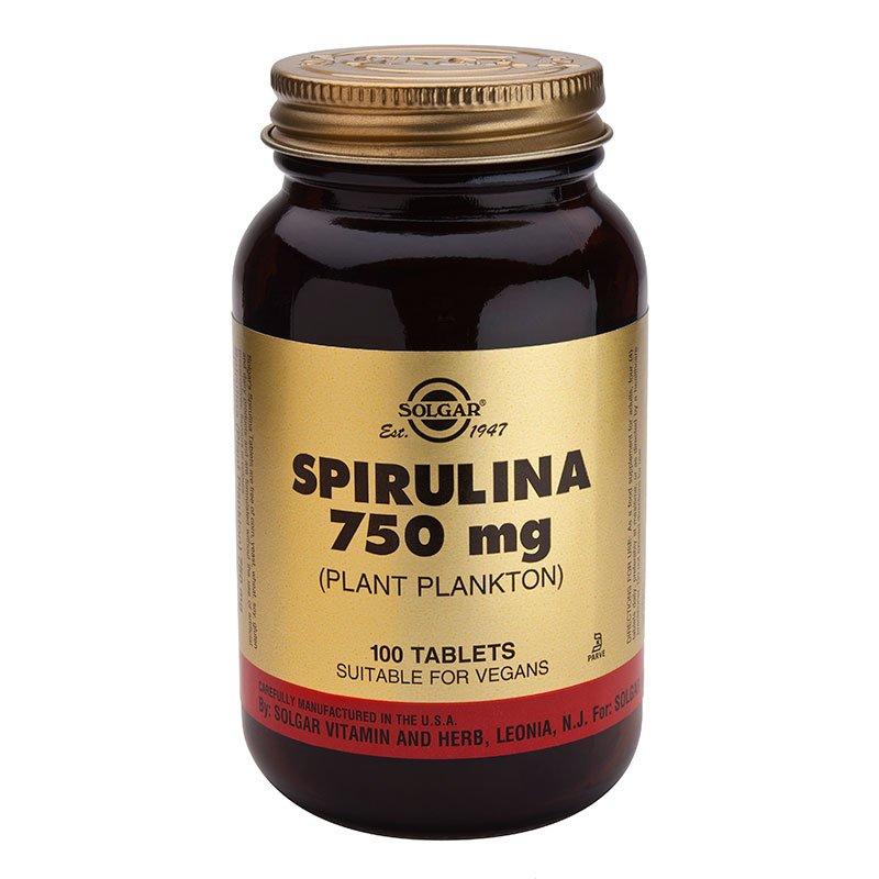 Spirulina (spirulina) 750 mg. tablets №100