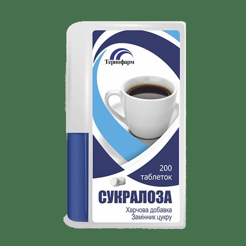Sucraloza (sucraloza) tablets №200