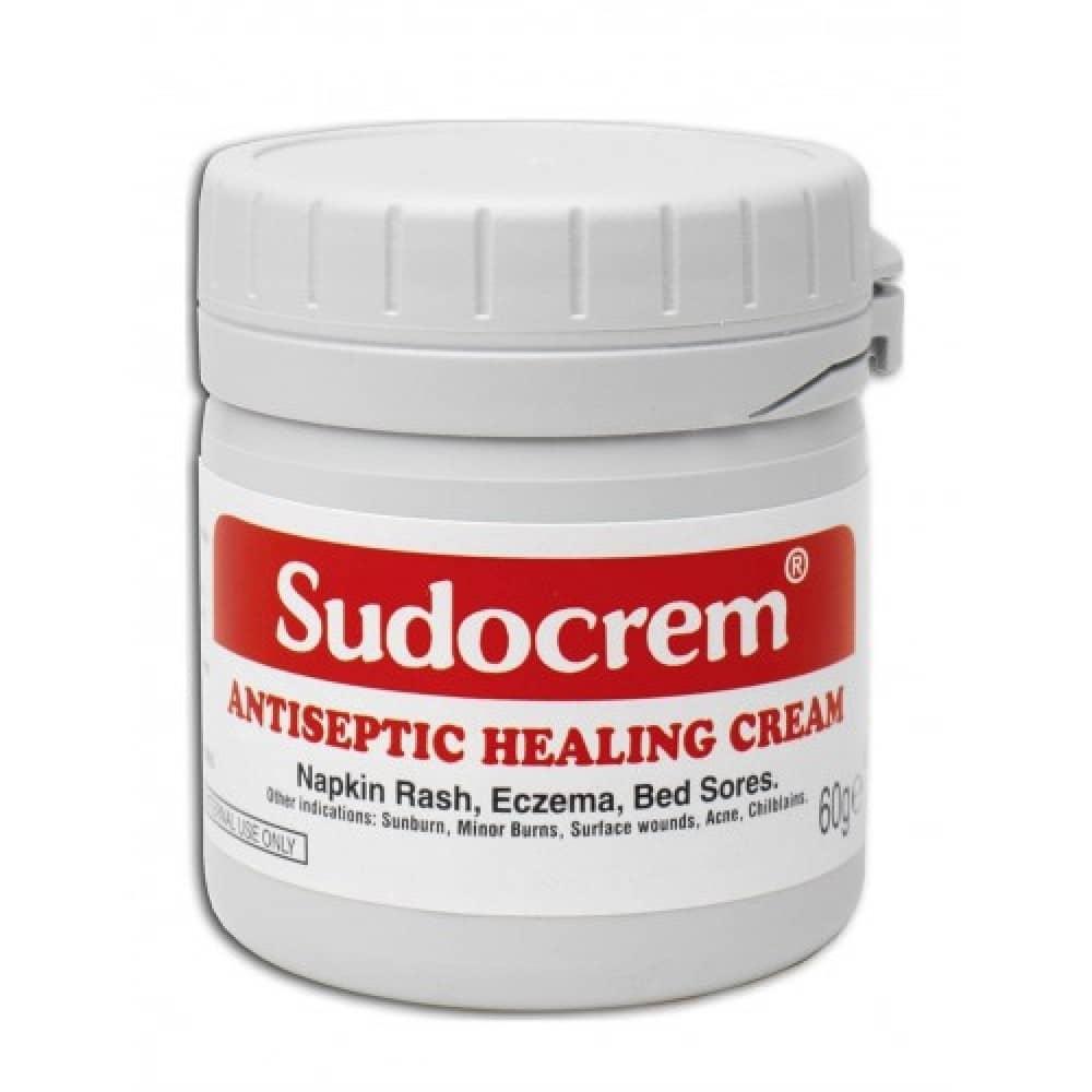 Sudocrem cream (zinc oxide) for external use 60 g. №1 vial