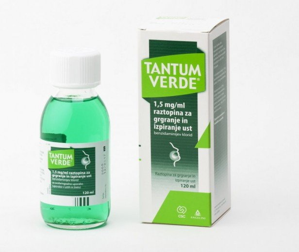 Tantum Verde solution for the oral cavity 1.5 mg/1 ml. 120 ml. vial