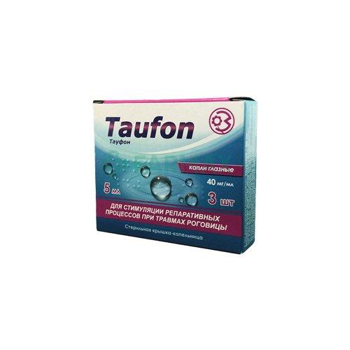 Taufon eye drops 40 mg/ml. 5 ml. №3