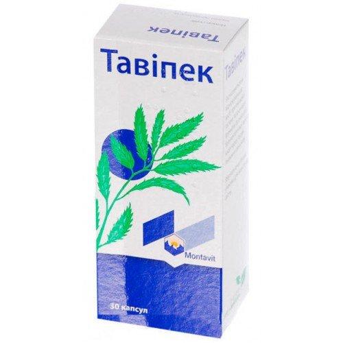 Tavipek capsules 0.15 g. №30