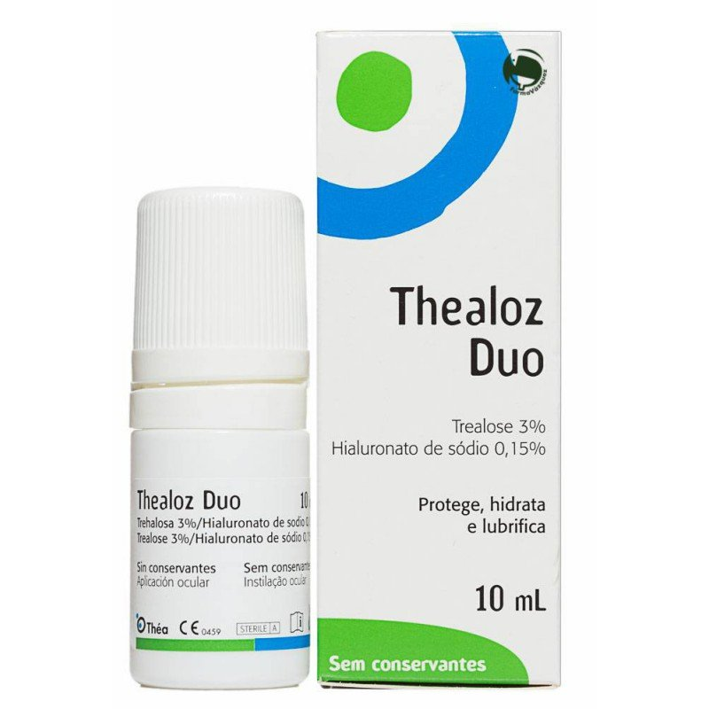 Tealoz Duo solution 10 ml. sterile