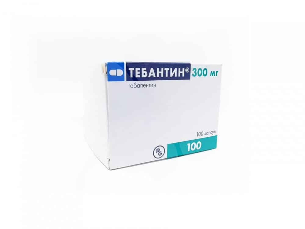 Tebantin capsules 300 mg. №100