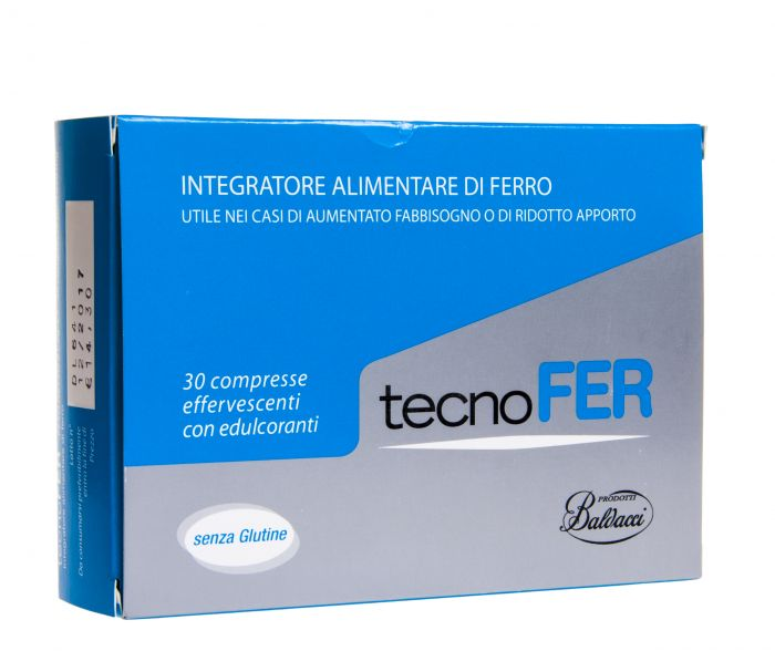 Tecnofer effervescent tablets 1.05 g. №30