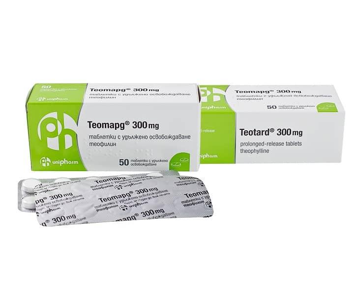Teotard tablets 300 mg. №50