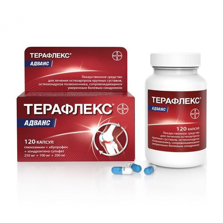 Teraflex Advans capsules №120 vial