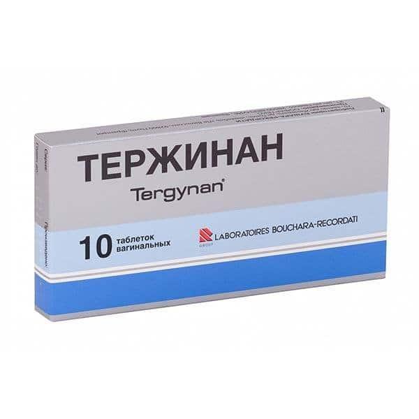 Terjinan vaginal tablets №10