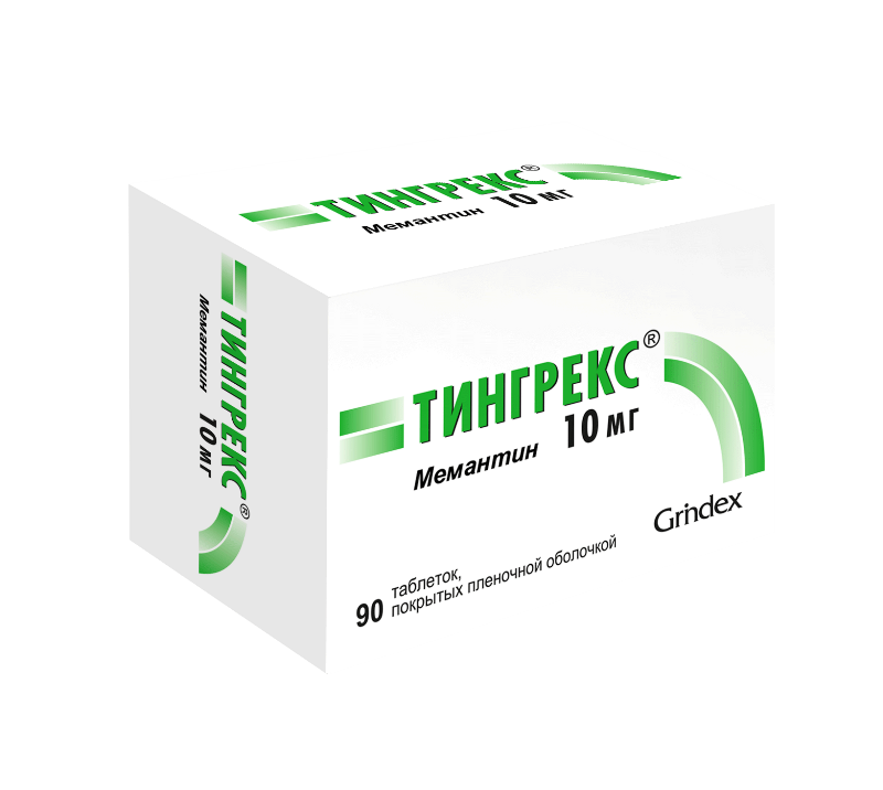 Tingrex coated tablets 10 mg. №90