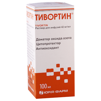Tivortin solution 4.2% 100 ml.
