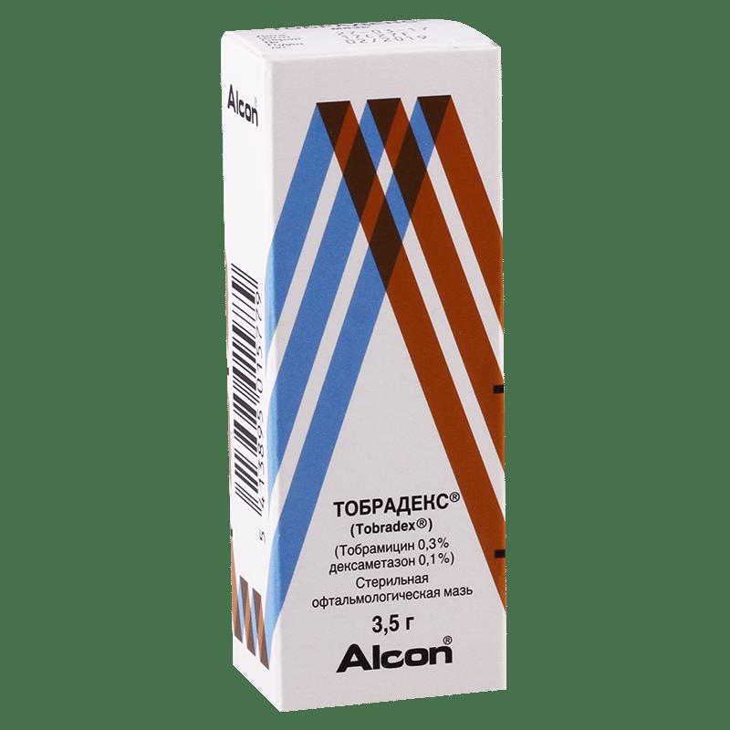 Tobradex eyes ointment 3.5 g.