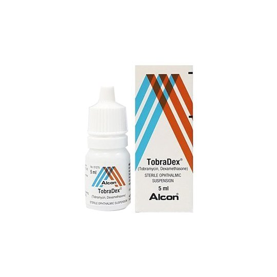 Tobradex eye drops 5 ml.