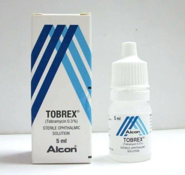 Tobrex eye drops 0.3% 5 ml.