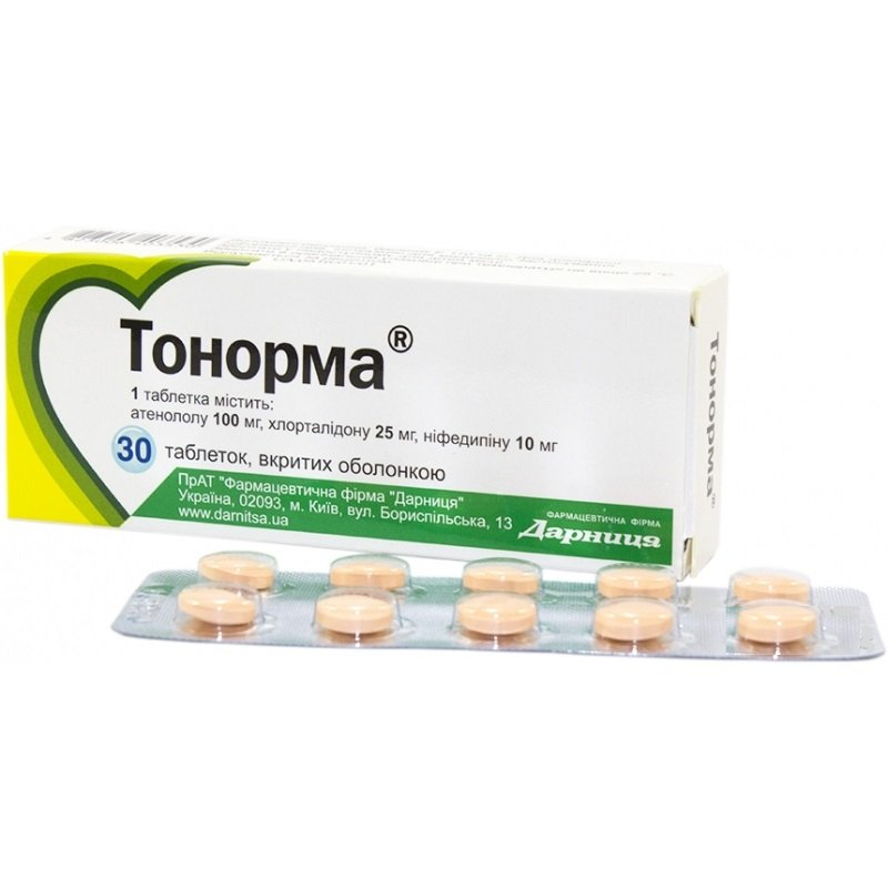 Tonorma coated tablets №30