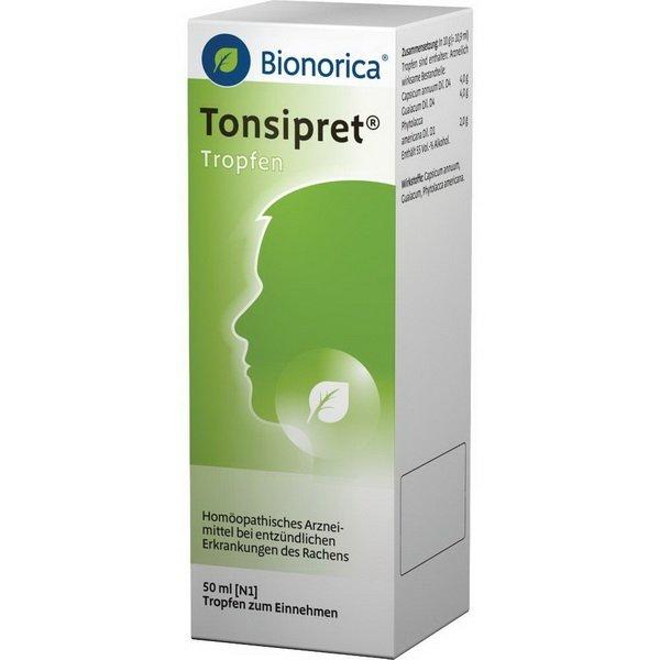 Tonzipret oral drops 50 ml.